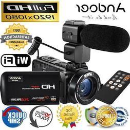 HDV-Z20 1080P Full HD 24MP Digital Video Camera Camcorder wi