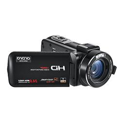 Camcorder,ORDRO HDV-Z20 Video Camera FHD 1080P 30FPS WiFi Ca
