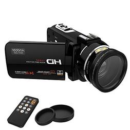 Andoer LCD Touch Screen Digital Video Camera Camcorder