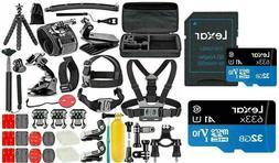 GoPro HERO 8 7 6  Black Silver White Deluxe Accessories Kit