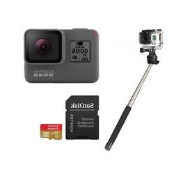GoPro HERO5 Black - Bundle with 32GB SDHC Card, and Selfie S