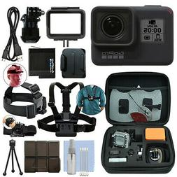GoPro HERO7 Black 12 MP Waterproof 4K Camera Camcorder + Ult