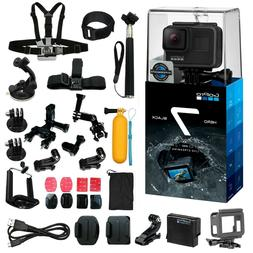 GoPro Hero7 Black Action Camera Camcorder + All You Need Acc