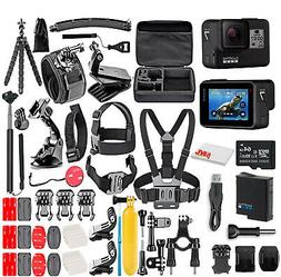 GoPro HERO7 Black -  With 64GB Micro Sd Card and 50 Piece Ac