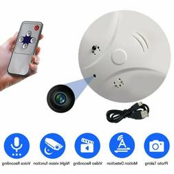 1080P Camera Video Recorder Surveillance DVR Spy Smoke Detec