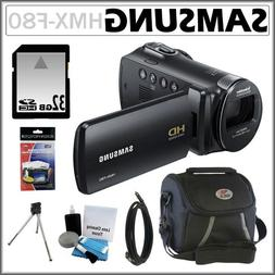Samsung HMX-F80 HD Camcorder with 52x Optical Zoom and 2.7-i