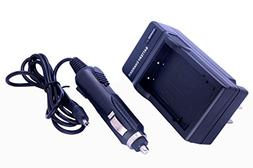 Home / Travel Charger with Car Adapter for Fuji NP-60 Camera