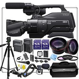 Sony HXR-MC2500U / MC2500 Shoulder Mount AVCHD Camcorder Wit
