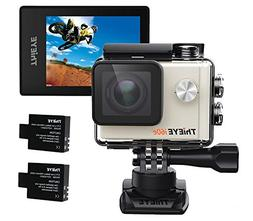 ThiEYE i60e 4K Wifi Action Camera, 197FT Waterproof Sports A