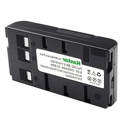 Kastar High Capacity Camcorder Battery BN-V11U for JVC BN-V1