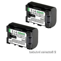 Kastar BN-VG114 Battery  Replacement for JVC BN-VG107 BN-VG1