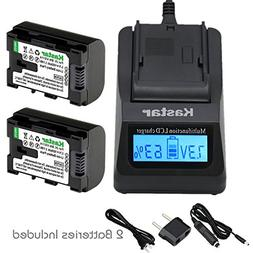 Kastar Ultra Fast Charger Kit and BN-VG114 Battery  for JVC
