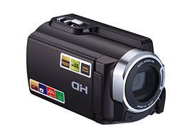 KIMGEAR PL5053 1080P 24MP 16X Digital Zoom Camcorders WIFI C