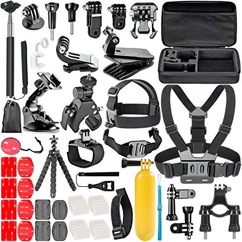 Neewer 58-In-1 Essential Outdoor Sport Accessory Kit for GoP
