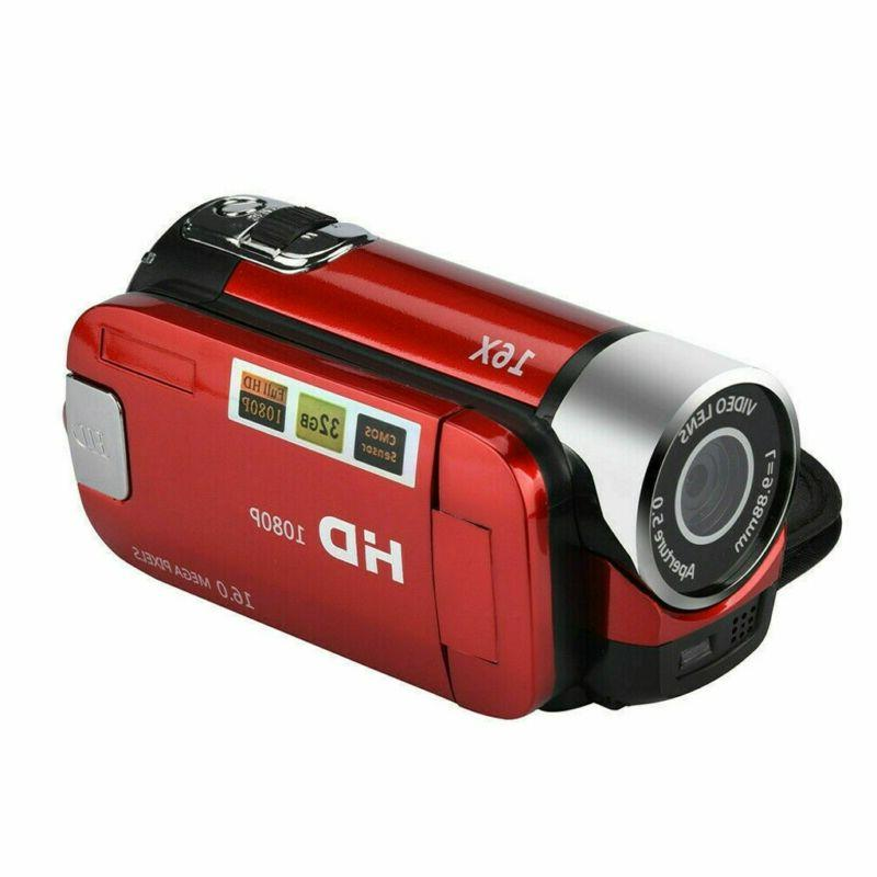 Camcorder Digital 1080P LCD 24MP 16x AV