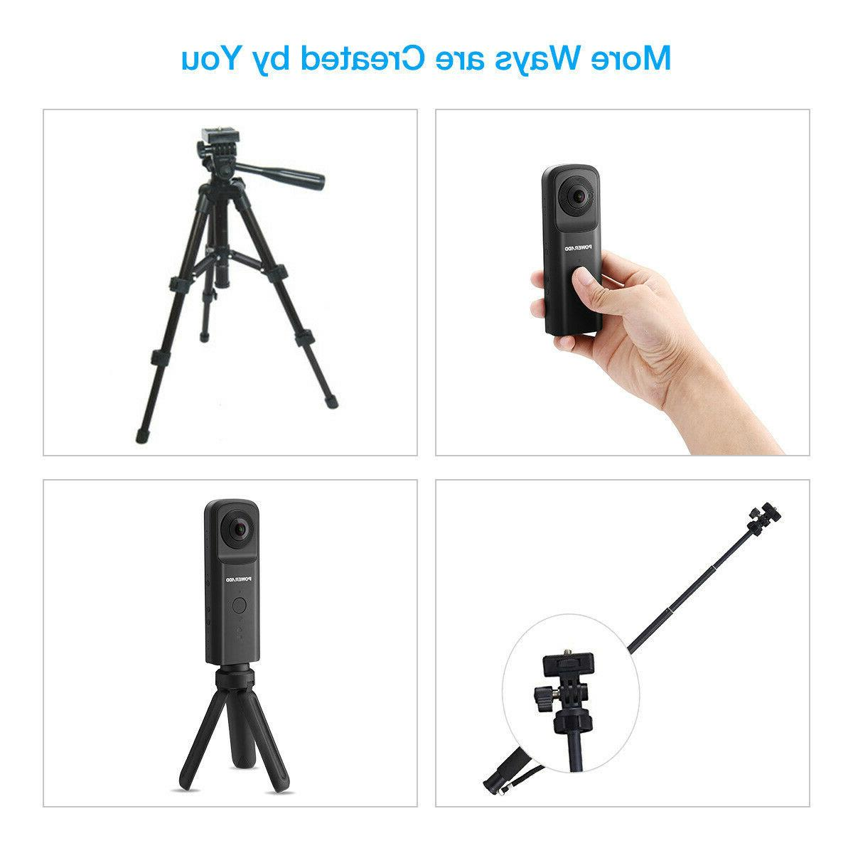 360° WiFi Video Dual Fisheye Panoramic Camcorder