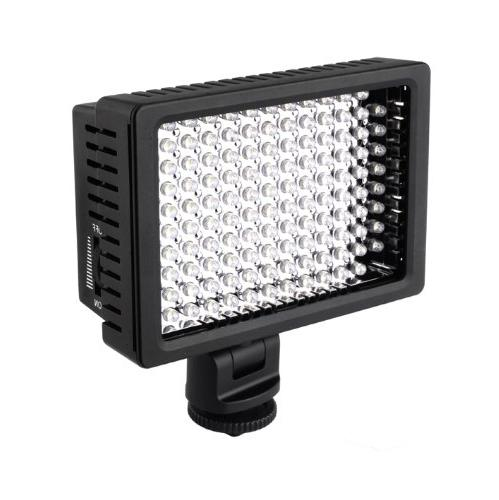 FOTGA HD-160 LED Camera Video DV Camcorder Hot Shoe Light fo