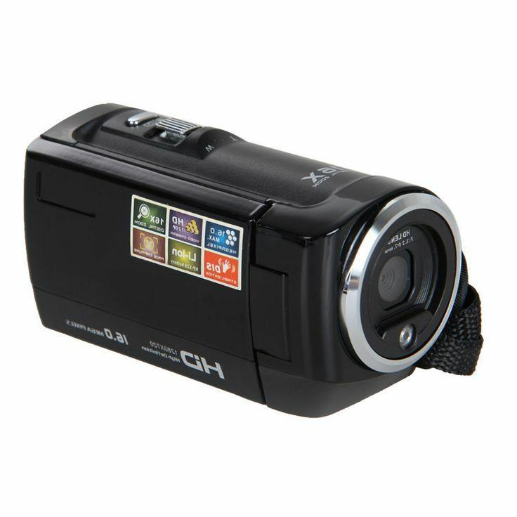 PowerLead 1280x720 Digital Video Camera Recorder Black