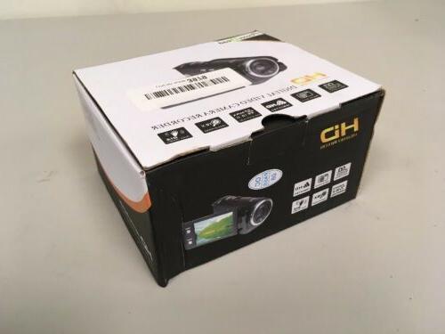 PowerLead 1280x720 Digital Video Camera Black