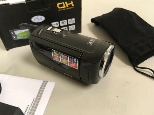 PowerLead Digital Video Camera Black