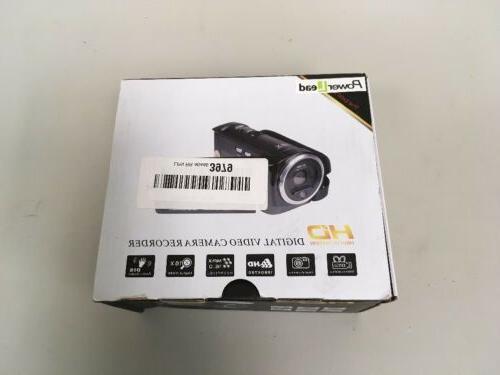 PowerLead 16MP 1280x720 Digital Camera Recorder Black