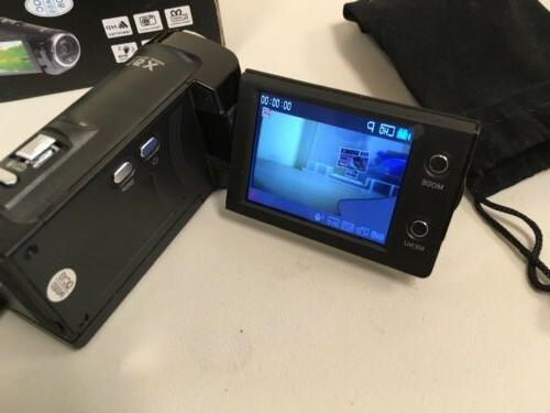 PowerLead Digital Video Camera Recorder Black