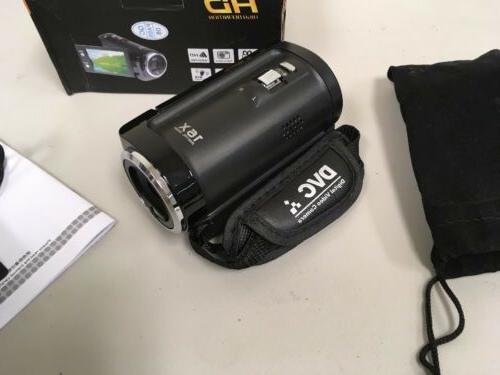 PowerLead 16MP 1280x720 HD Digital Video Black