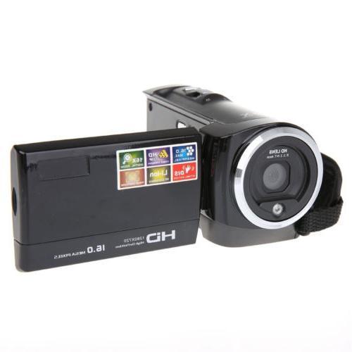16X Digital Zoom Camcorder DV Camer Camera + Holder