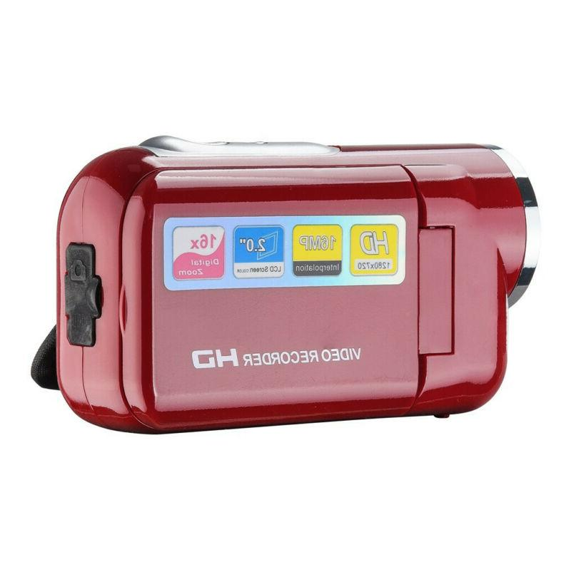 FULL 16MP LCD 16X ZOOM Vision Camera Camcorder
