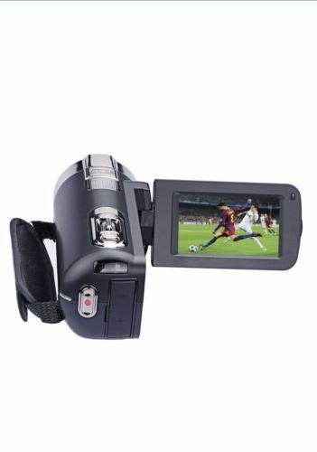 """PowerLead 2.7"""" LCD Digital Camcorder 24MP Digital"""