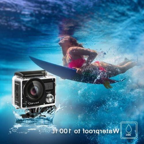 2018 New Akaso Brave 4 Wifi 4K 20MP Action Camera Sony Senso