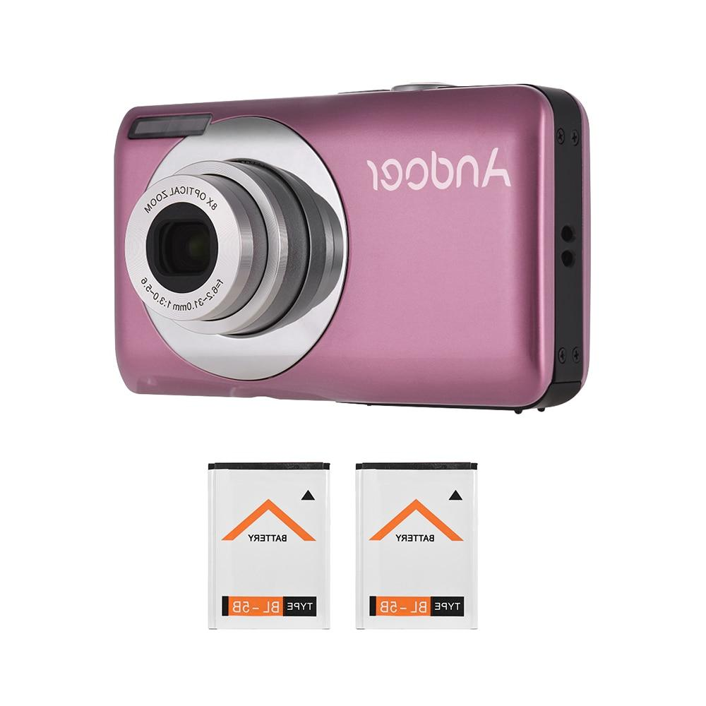 2018 Andoer Camera LCD Screen Gift Video 16MP 720P HD Camera 8X <font><b>Optical</b></font> 4X <font><b>Zoom</b></font> <font><b>Camcorder</b></font>