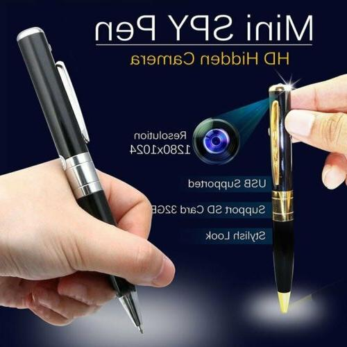full hd 1080p mini spy camera pen
