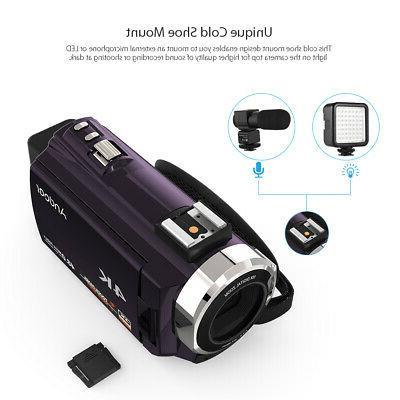 Andoer WiFi 4K 1080P 48MP Camera Camcorder DV &