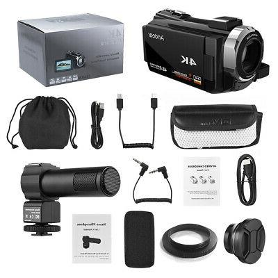 "Andoer 3"" Digital Camera Ultra 1080P 48MP 16X DV DVR"