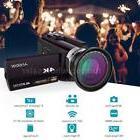 Andoer 4K 48MP WiFi Digital Touchscreen Video Camera Camcord