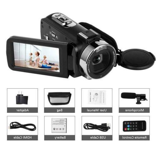 SEREE Video Camera w/ WiFi Night 16x Youtube