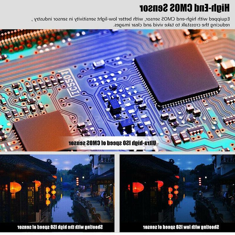 "HD 24MP ZOOM 3"" Digital Camera Night"