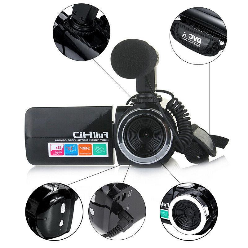 HD 1080P 24MP Camera IR