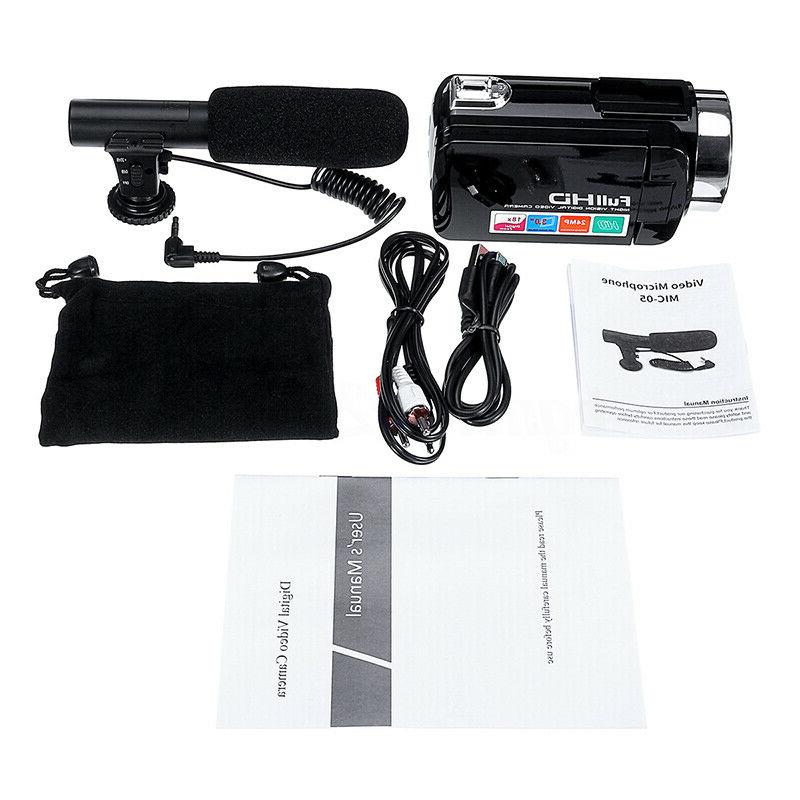 HD ZOOM Video Camera DV Night