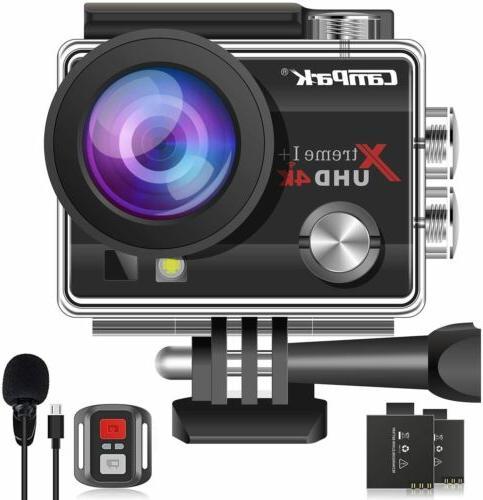 Campark 4K 1080P Waterproof Camera EIS as Go