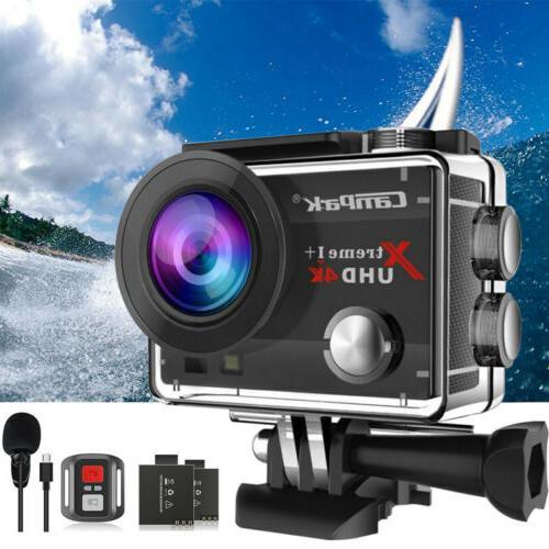 4k hd 20mp 1080p waterproof sport action