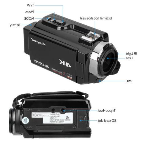 4K HD Digital MP & IR Night Vision
