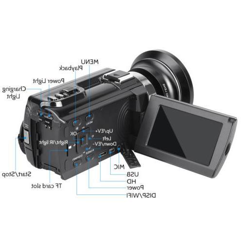 HD 4K 16X Zoom WiFi MP Vision
