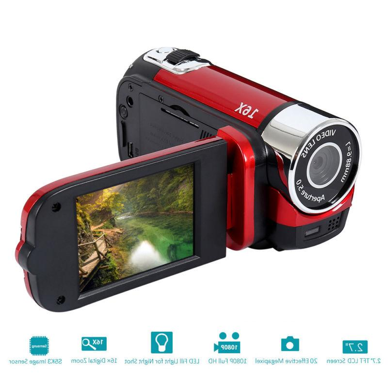 2.7 inch LCD Camcorder Digital 16X Zoom
