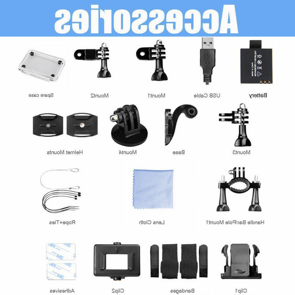 4K Ultra HD 16MP Sport DV Action Helmet wifi& Hd