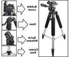 "57"" Pro Series Tripod For Nikon Panasonic Sony Canon Samsung"
