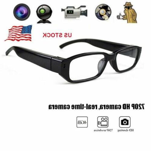 Spy Camera Glasses 720P//1080P HD Mini Hidden Eyeglass Sunglasses Cam Camcorders
