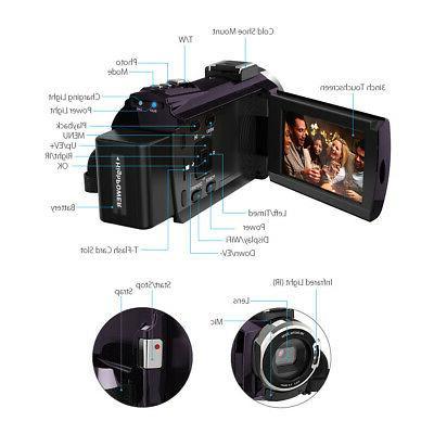 1080P 48MP Video Camera DV &