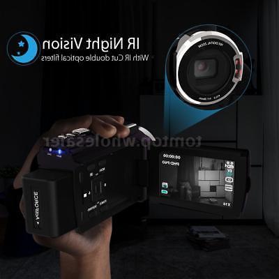 Andoer 1080P Camera DV DVR & Mic